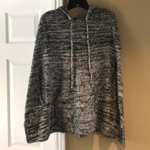 Express Sweater Poncho